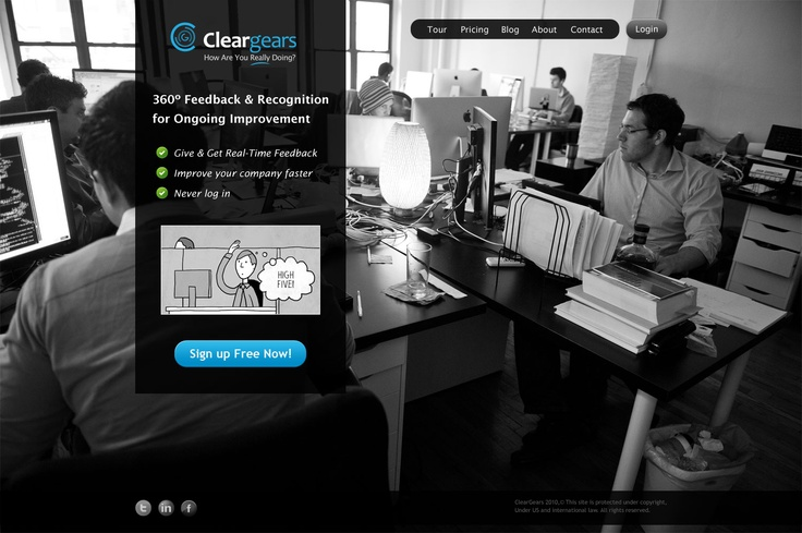 ClearGears. 2010 - 2012. CEO. This was an effort to introduce real-time feedback at work. The business failed so we pivoted to InterviewJet.