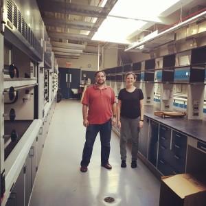 Founders of Folia Water, Jonathan Levine, PhD and Theresa Dankovich, PhD